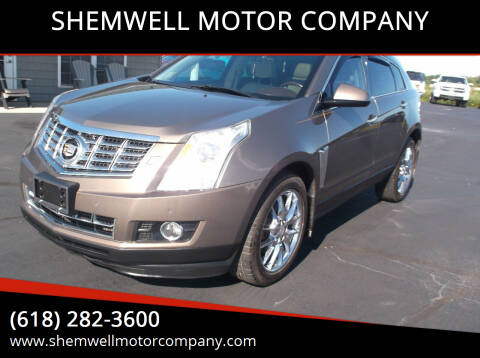 2014 Cadillac SRX for sale at SHEMWELL MOTOR COMPANY in Red Bud IL