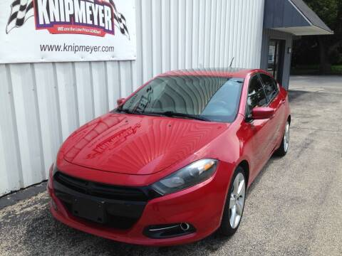2015 Dodge Dart for sale at Team Knipmeyer in Beardstown IL