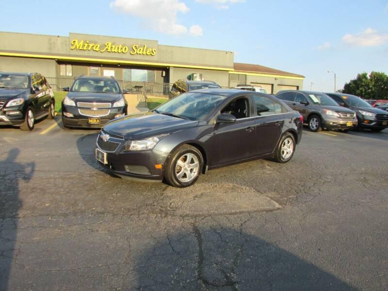 2014 Chevrolet Cruze for sale at MIRA AUTO SALES in Cincinnati OH