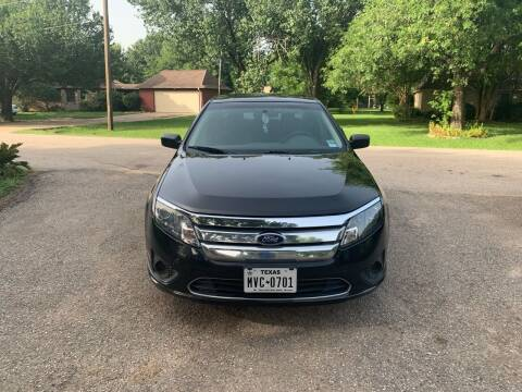 2010 Ford Fusion for sale at CARWIN MOTORS in Katy TX