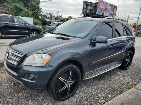 2011 Mercedes-Benz M-Class for sale at America Auto Wholesale Inc in Miami FL