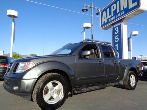 2007 Nissan Frontier for sale at Alpine Auto Sales in Salt Lake City UT