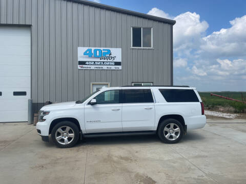 2016 Chevrolet Suburban for sale at 402 Autos in Lindsay NE
