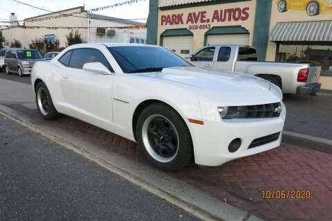 2013 Chevrolet Camaro for sale at PARK AVENUE AUTOS in Collingswood NJ