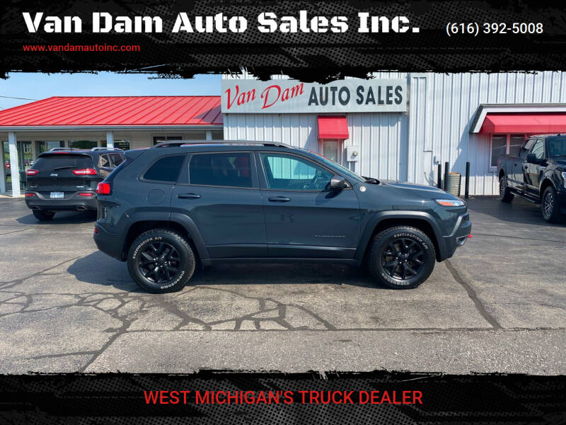 2016 Jeep Cherokee for sale at Van Dam Auto Sales Inc. in Holland MI
