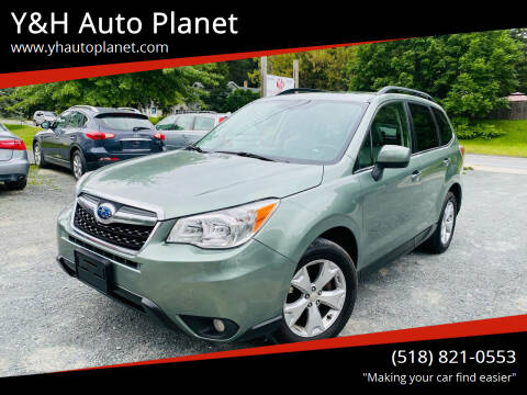 2014 Subaru Forester for sale at Y&H Auto Planet in West Sand Lake NY