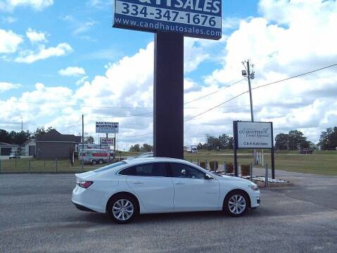 2020 Chevrolet Malibu for sale at C & H AUTO SALES WITH RICARDO ZAMORA in Daleville AL
