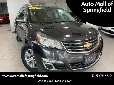 2015 Chevrolet Traverse for sale at Auto Mall of Springfield north in Springfield IL