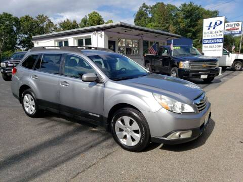 2011 Subaru Outback for sale at Highlands Auto Gallery in Braintree MA