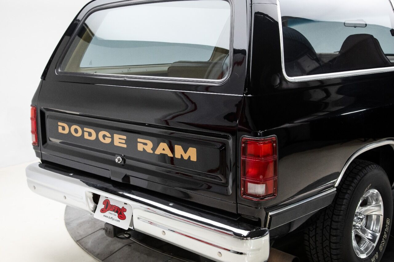 1989 Dodge Ramcharger 5
