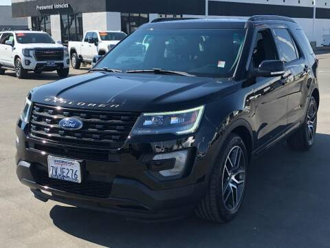 2017 Ford Explorer for sale at Dow Lewis Motors in Yuba City CA