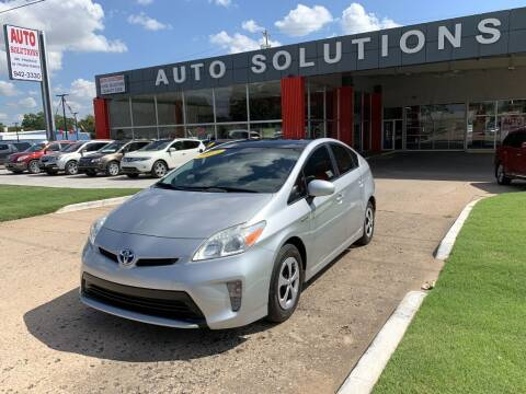 2012 Toyota Prius for sale at Auto Solutions in Warr Acres OK