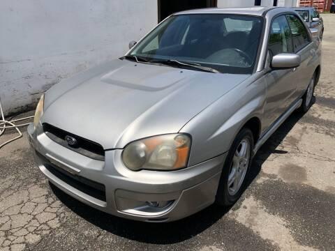 2005 Subaru Impreza for sale at Pinnacle Automotive Group in Roselle NJ