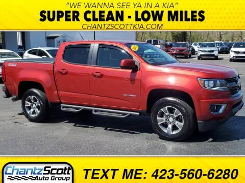 2015 Chevrolet Colorado for sale at Chantz Scott Kia in Kingsport TN