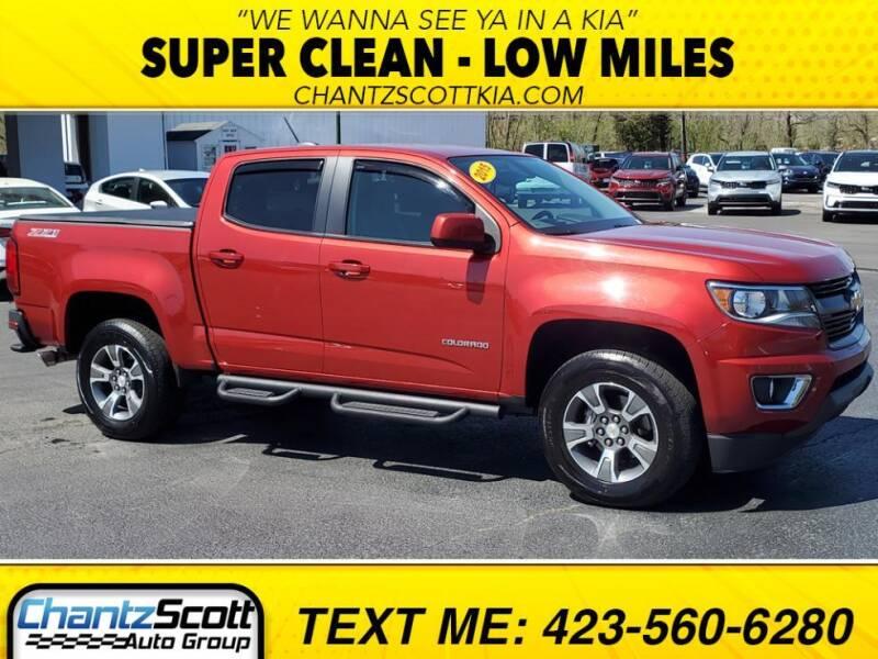 2015 Chevrolet Colorado for sale at Chantz Scott Kia in Kingsport TN