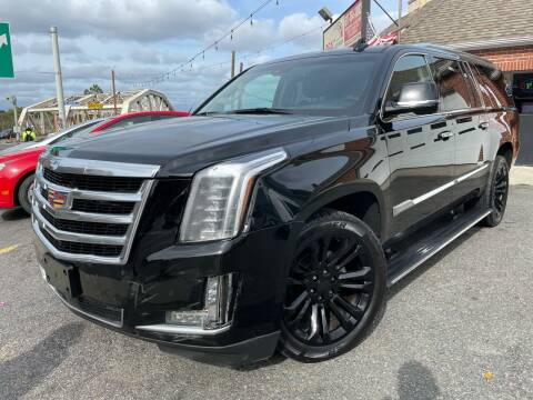 2016 Cadillac Escalade ESV for sale at Real Auto Shop Inc. in Somerville MA