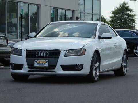 2011 Audi A5 for sale at Loudoun Used Cars - LOUDOUN MOTOR CARS in Chantilly VA