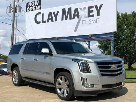 2017 Cadillac Escalade ESV for sale at Clay Maxey Fort Smith in Fort Smith AR