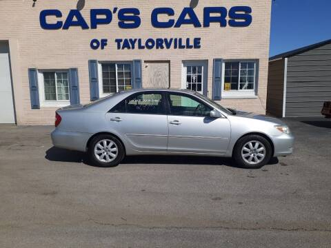 2003 Toyota Camry for sale at Caps Cars Of Taylorville in Taylorville IL