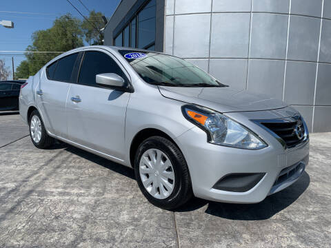 2018 Nissan Versa for sale at Berge Auto in Orem UT