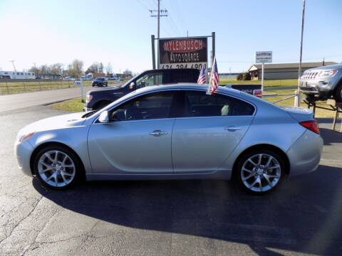 2012 Buick Regal for sale at MYLENBUSCH AUTO SOURCE in O` Fallon MO