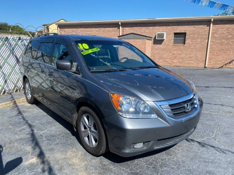 2010 Honda Odyssey for sale at Wilkinson Used Cars in Milledgeville GA