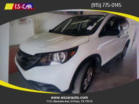 2013 Honda CR-V for sale at Escar Auto - 9809 Montana Ave Lot in El Paso TX