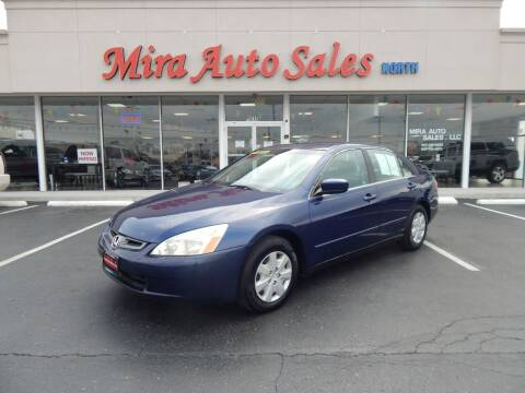 2004 Honda Accord for sale at Mira Auto Sales in Dayton OH