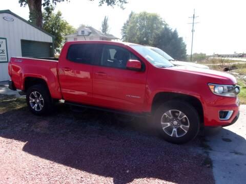 2015 Chevrolet Colorado for sale at CHUCK ROGERS AUTO LLC in Tekamah NE