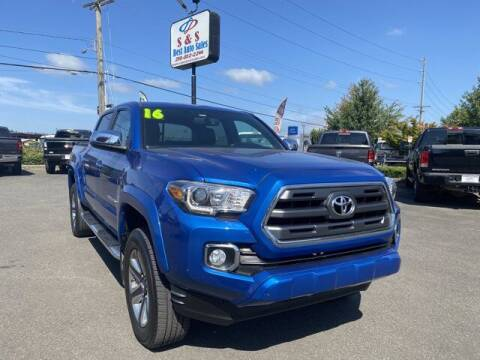2016 Toyota Tacoma for sale at S&S Best Auto Sales LLC in Auburn WA