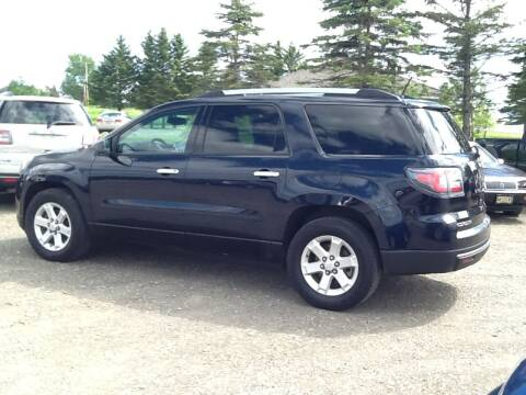2016 GMC Acadia for sale at Garys Sales & SVC in Caribou ME
