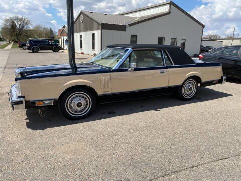 1983 Lincoln Continental for sale at Murphy Motors Next To New Minot in Minot ND