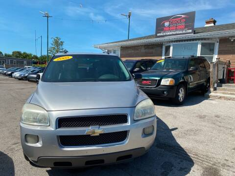 2005 Chevrolet Uplander for sale at I57 Group Auto Sales in Country Club Hills IL