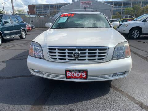 2001 Cadillac DeVille for sale at Rod's Automotive in Cincinnati OH