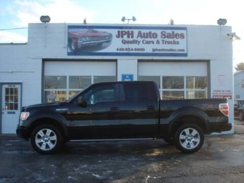 2009 Ford F-150 for sale at JPH Auto Sales in Eastlake OH