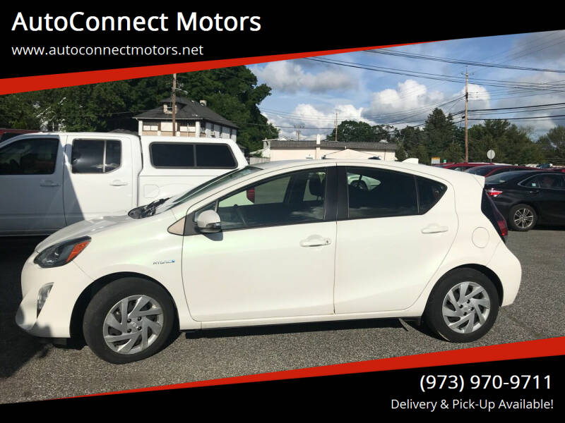 2015 Toyota Prius c for sale at AutoConnect Motors in Kenvil NJ
