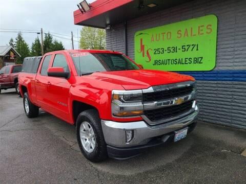 2018 Chevrolet Silverado 1500 for sale at Vehicle Simple @ JRS Auto Sales in Parkland WA