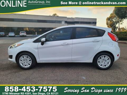 2016 Ford Fiesta for sale at Online Auto Group Inc in San Diego CA