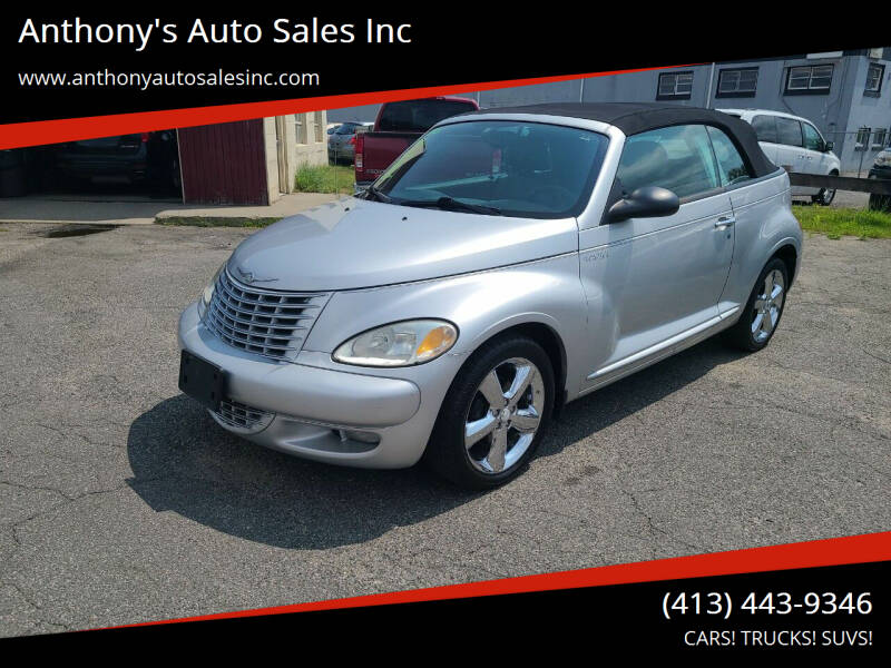 2005 Chrysler PT Cruiser for sale at Anthony's Auto Sales Inc in Pittsfield MA
