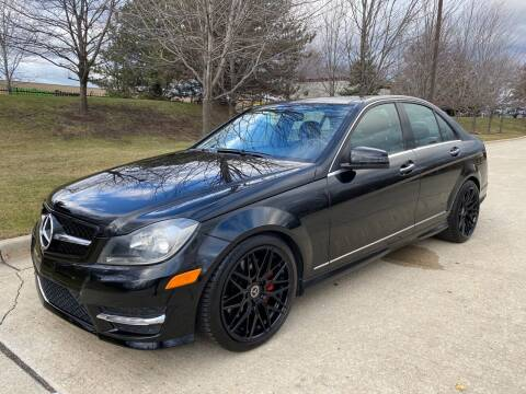 2013 Mercedes-Benz C-Class for sale at Western Star Auto Sales in Chicago IL