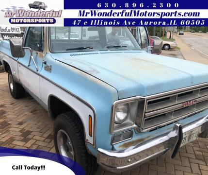 1976 GMC Sierra 1500 Classic for sale at Mr Wonderful Motorsports in Aurora IL