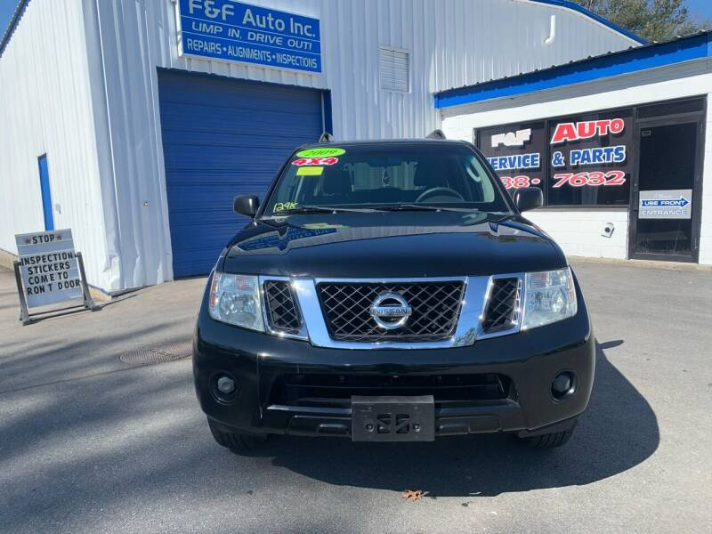 2009 Nissan Pathfinder for sale at F&F Auto Inc. in West Bridgewater MA