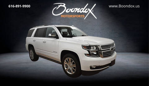 2016 Chevrolet Tahoe for sale at Boondox Motorsports in Caledonia MI