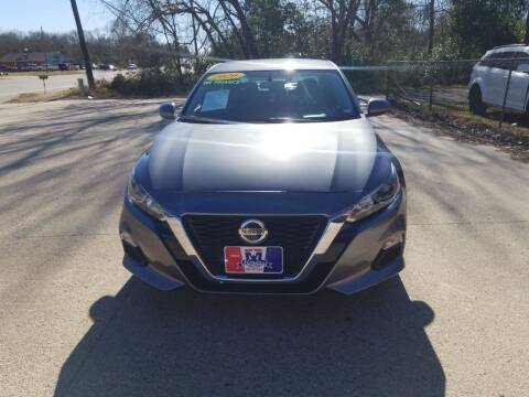 2020 Nissan Altima for sale at MENDEZ AUTO SALES in Tyler TX