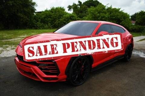 2020 Lamborghini Urus for sale at STS Automotive - Miami, FL in Miami FL