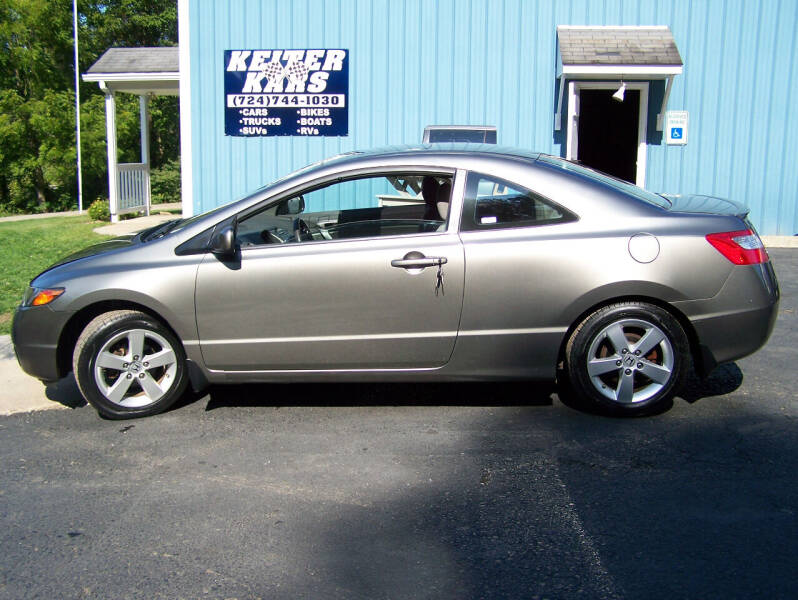 2008 Honda Civic for sale at Keiter Kars in Trafford PA