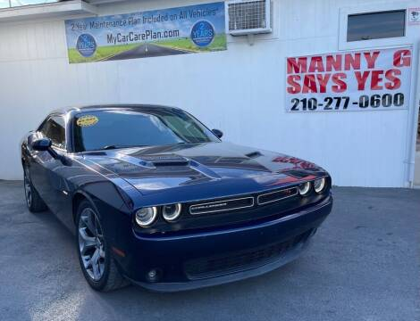 2015 Dodge Challenger for sale at Manny G Motors in San Antonio TX