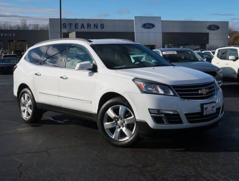 2016 Chevrolet Traverse for sale at Stearns Ford in Burlington NC