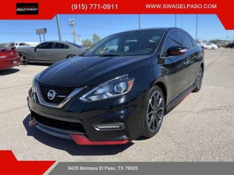 2017 Nissan Sentra for sale at SOUTHWEST AUTO GROUP-EL PASO in El Paso TX
