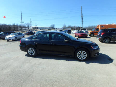 2013 Volkswagen Passat for sale at BLACKWELL MOTORS INC in Farmington MO